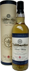 Tullibardine 15 yrs old Tube